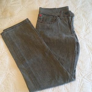 LOST washed gray Denim pants